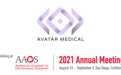 AVATAR MEDICAL is exhibiting at 2021 American Academy of Orthopaedic Surgeons (AAOS)